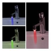 LED Wasser Wasserhahn (aus Kunststoff, verchromt)
