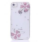 Vierblättriges Kleeblatt Hülle für iPhone 4/4s