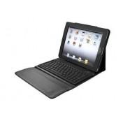 Trust Tastatur Etui und Stütze für das iPad 2-4