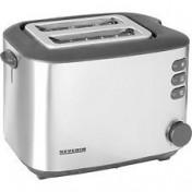 Severin Automatik-Toaster AT 2514 silber-schwarz