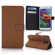 Style Wallet Magnetic Ledertasche für Samsung Galaxy S5