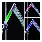 Duschkopf mit 1-LED Farbwechsel 1,2 Zoll
