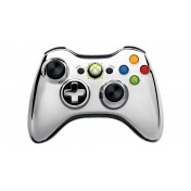 Xbox 360 Limited Edition Metallic Silver Wireless Controller