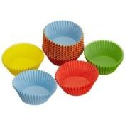 Kaiser 150 Muffin-Papierbackförmchen farbig