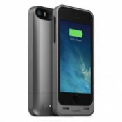 Mophie Juice Pack Helium für iPhone 5/5S dark metallic