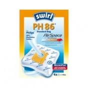 Swirl Staubfilterbeutel PH86 4 Stück