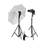 Speedlite Set f. Passbild, Produkt, Makro-Aufnahmen