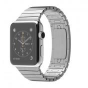 Apple Watch 42 mm Edelstahlgehäuse mit Gliederarmband