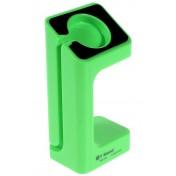 Ständer Dock für Apple Watch grün