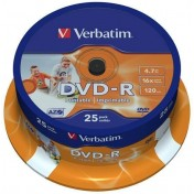 Verbatim DVD-R Medien 4.7GB 25Stk.