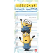 Minions Familienplaner - Kalender 2016