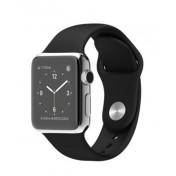 Apple Watch 38mm Edelstahlgehäuse mit Sportarmband, Black