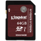 SDXC Card 64GB Kingston UHS-I U3