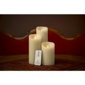 Luminara Kerzen Set 7.6cm (drei Kerzen und Fernbedienung)