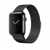 Apple Watch Series 2 38 mm Edelstahlgehäuse Milanaise-Armband spaceschwarz