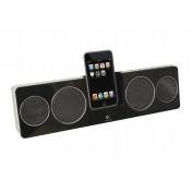 Logitech Pure-Fi Anywhere 2 Speakers for iPod + iPhones schwarz