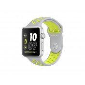 Apple Watch Nike+ Silber 42mm