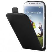 Xqisit FlipCover für Galaxy S4 - Schwarz