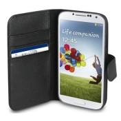 Xqisit Wallet Case für Galaxy S4 - Schwarz