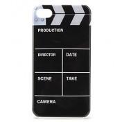 Hülle für iPhone 4 / 4s mit Filmklappen Motiv