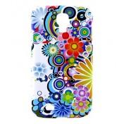 Blumenhülle für Samsung Galaxy S4