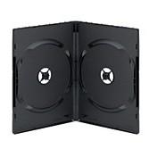 DVD Video-Box schwarz für 2 DVD (High Quality)