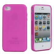 Süssigkeit-Farben-Schutzhülle für iPhone 4/4S (pink)